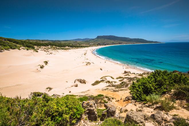 Playa bolonia, escapada, verano