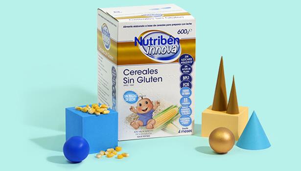 Ideal para introducir los cereales