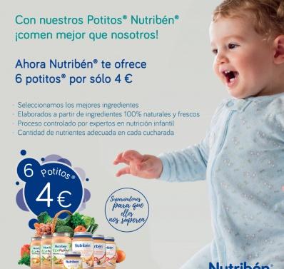 Con Potitos nuestros bebés ¡comen mejor que nosotros!
