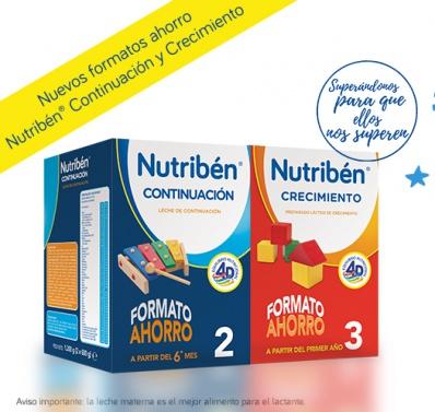Nuevos formatos ahorro en Nutribén® Continuación y Crecimiento
