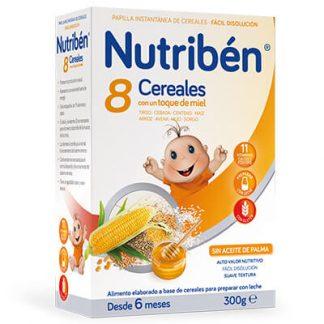 Papilla 8 cereales con un toque de miel 300