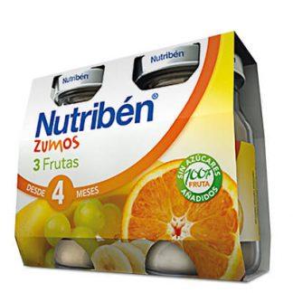Zumo 3 frutas Nutribén