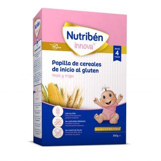 Nutriben innova cereales de inicio al gluten