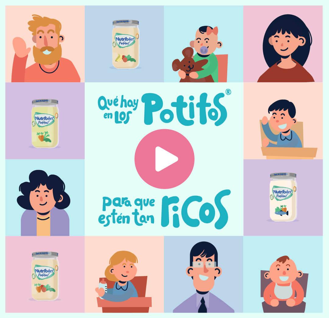 ¿Qué hay en mis Potitos®?
