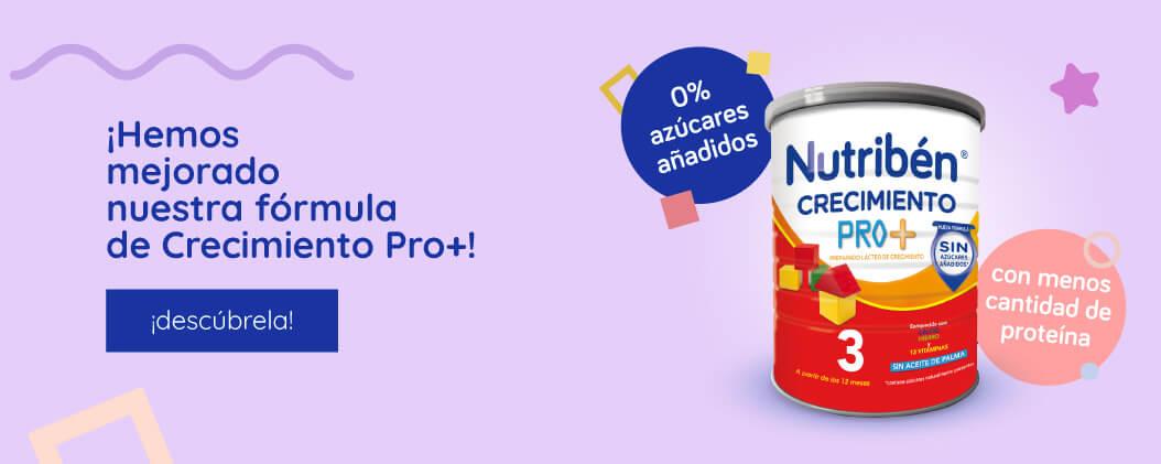 Nueva fórmula Nutribén® Crecimiento Pro+