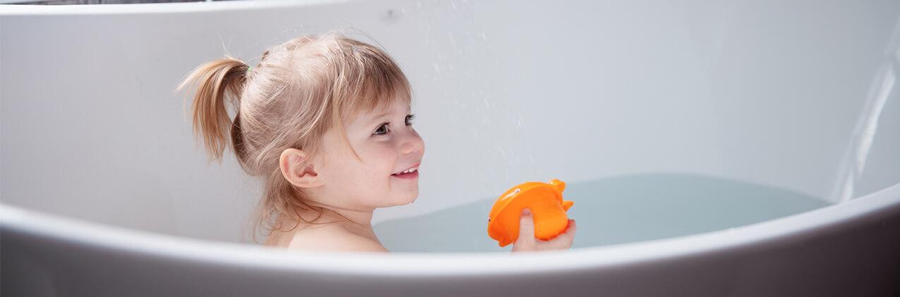 ¡La divertida hora del baño!